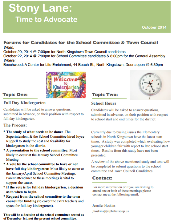 North Kingstown School Committee