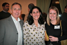 Principal Ferrario, PTO President Maria Leroux, and PTO member Denise Langfield