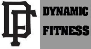 Dynamic Fitness Gray-Black DF logo