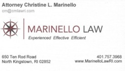 Marinello business card