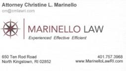 Marinello business card